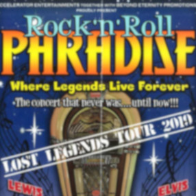 NEW DATE: Friday 5 November 7.30pm 2021Rock n Roll Paradise returns to the UK theatres in 2020 celebrating our 11th year on the road.